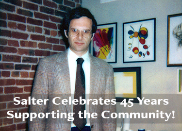 Salter Celebrates 45 Years Supporting the Community!