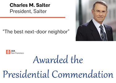 Salter Partners with AIA San Francisco (AIASF) as Part of the Dream Team to Build A New Tomorrow